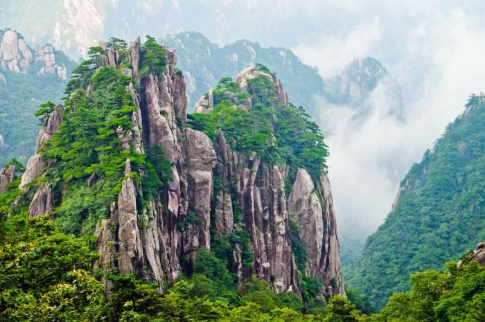 Yellow Mountain Huangshan via Depositphotos
