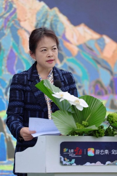 Wang Jianghong, deputy head of Yunnan Provincial Department of Culture and Tourism