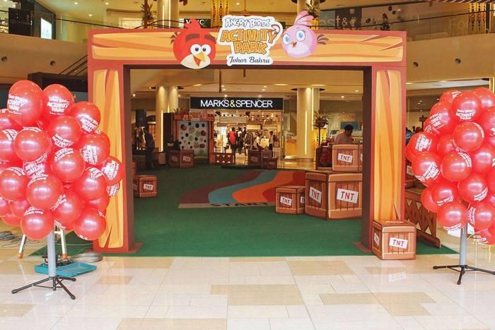 Angry Birds Theme Park Johor Bahru photo via FB Page