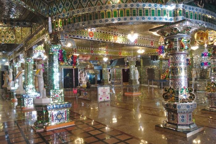 Arulmigu Sri Rajakaliamman Glass Temple by Mike via Flickr CC