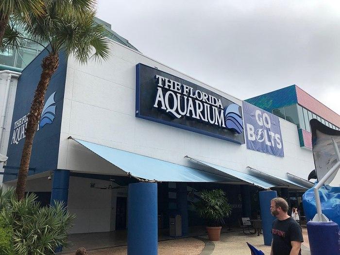 Florida Aquarium by Palmount45 via Wikipedia CC
