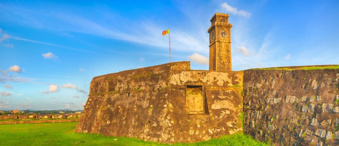 Galle Fort photo via Depositphotos