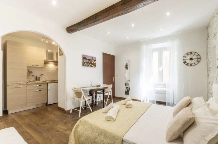 Gorgeous apartment situated in a picturesque alleyway in the heart of Trastevere