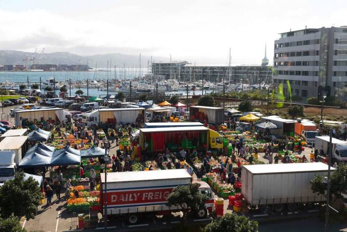 Harbourside Markets in Wellington New Zealand photo via FB Page