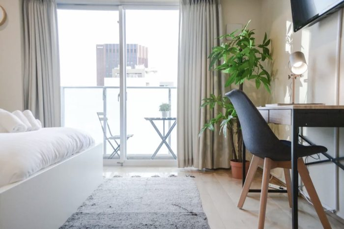 Tokyo Airbnb Rental with Balcony