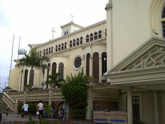 Cubao Cathedral by Jayzl Nebre-Villafania via Wikipedia CC
