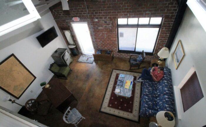 Macon Ground Floor Loft Airbnb with Parking