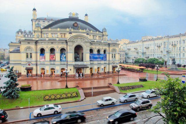 National Opera House in Kiev photo via Depositphotos