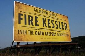 fire Kessler sign
