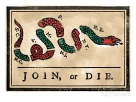 join or die