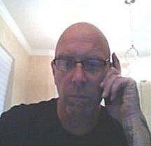 KC on phone