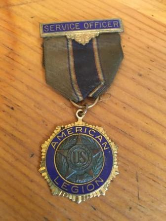 American Legion Service Officerr