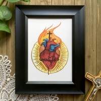Anatomical Sacred Heart of Jesus
