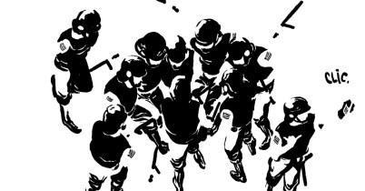 19jun2013---policiais-da-tropa-de-choque-aparecem-na-charge-de-rafael-coutinho-sobre-os-protestos-contra-o-aumento-da-tarifa-do-transporte-publico-1371664456756_956x500