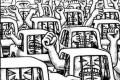 """Refestelada em seus automóveis de luxo, parte da classe média defende o """"bom senso"""" dos acomodados"""