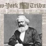Os EUA e o jornalista Karl Marx