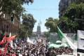 """Manifestação em Buenos Aires adia votação de """"Reforma"""" que reduz direitos de 17 milhões. Polícia reprime, mas governistas dividem-se. Amanhã, greve geral"""