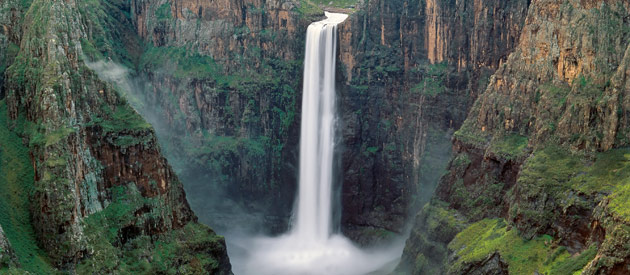 "Lesotho's Maletsunyane Waterfall, ""Africa and Nature"""