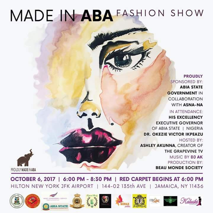 Made In Aba Fashion Show, New York City. USA