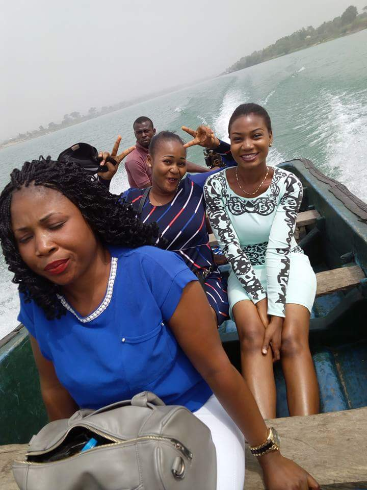 Boah ride at oguta lake
