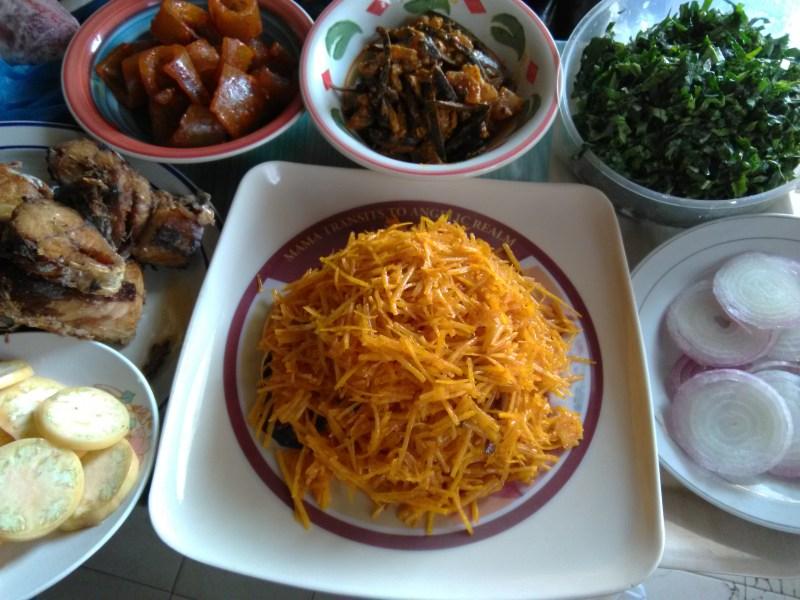 Igbo Dish, How to prepare Abacha.