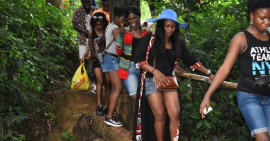 The Movement: A Trip to Ezeagu Cave and Waterfall