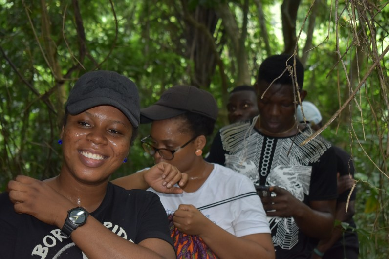 Enugu Local Guides inside the Akwuke forest (12)