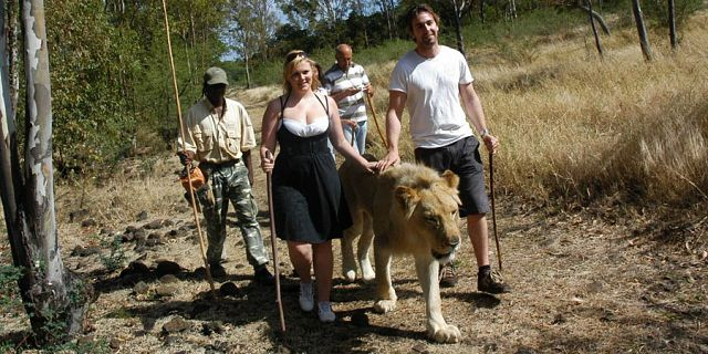 Mauritius Safari Adventure: Walking with Lions