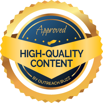 High Quality Content Website - Approved by Outreach.Buzz