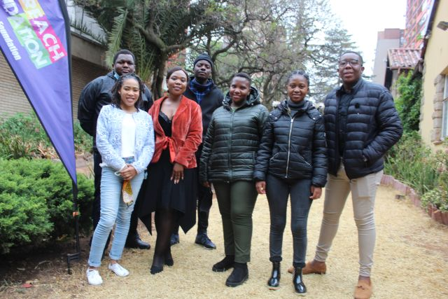 Seven carefully selected Youth start at Outreach Foundation as Interns