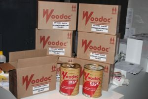 Donation received from Woodoc