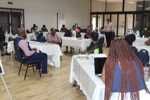 Migrant workshop in Musina