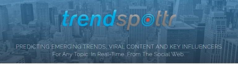SEO tool: Trendspottr