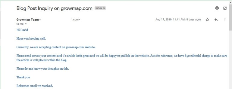 Email response of good guest posting headline