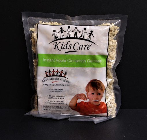 Meals by the Bag: Apple Cinnamon Oatmeal