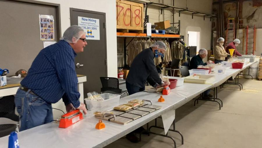 Construction Equipment Magazine Recognizes Kansas-Based Hutton for Planning to Package Over 250,000 Meals for The Outreach Program