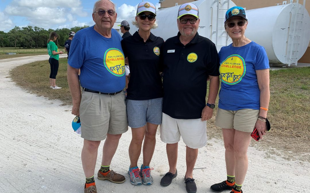Outreach Program Founders Help Meet the Pan Florida Cancer Challenge Bike Ride 2021