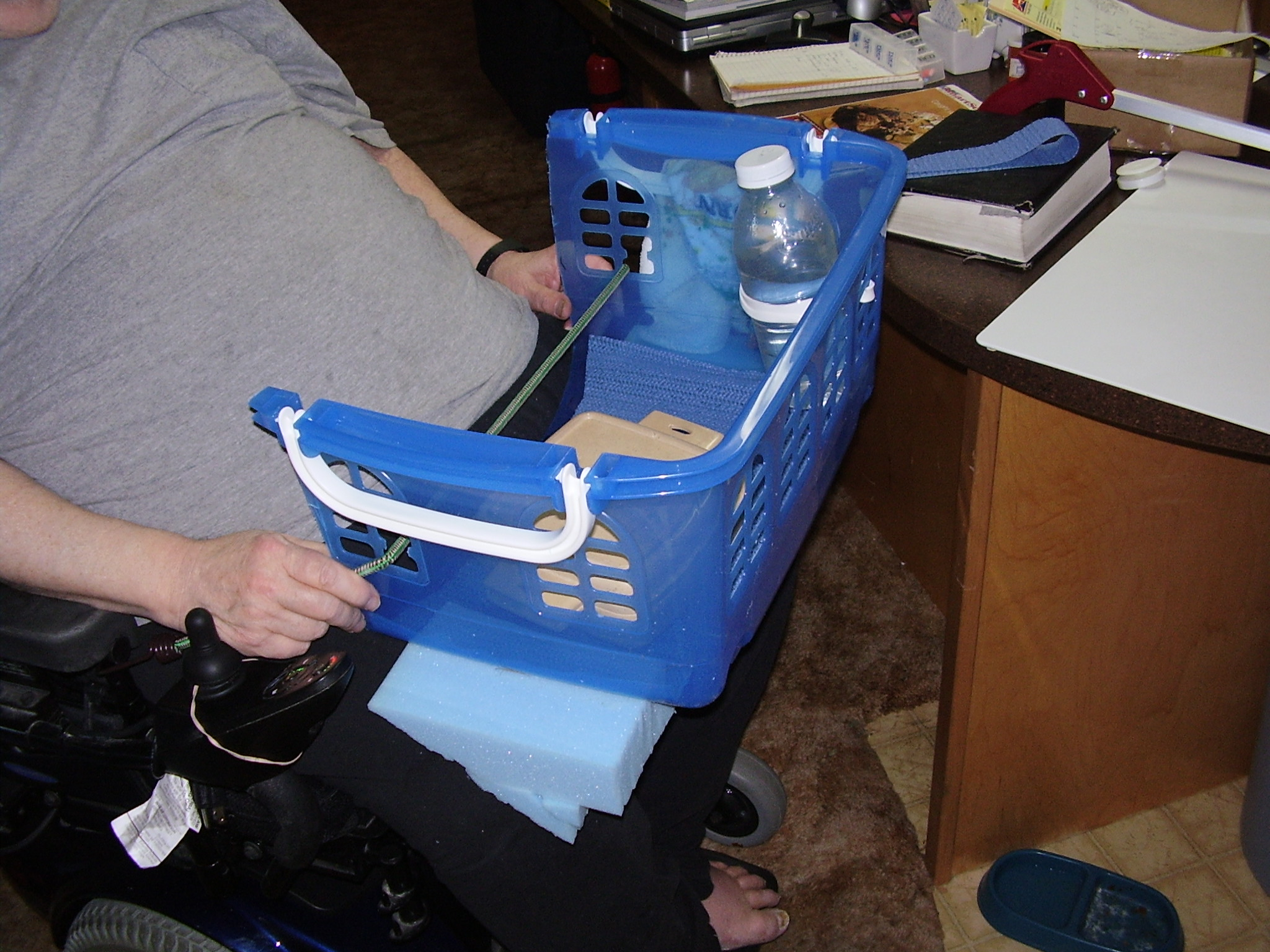 bungee cord chair diy knoll office manual options for transporting food when using a power