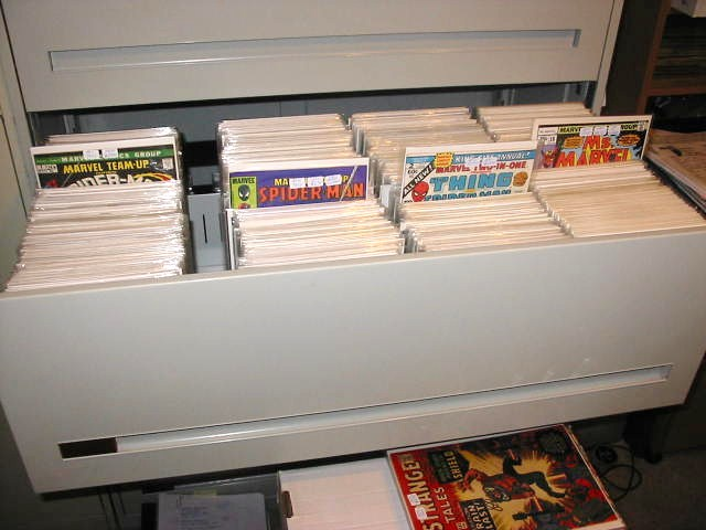 So You Want to Start Reading Comics Storage and