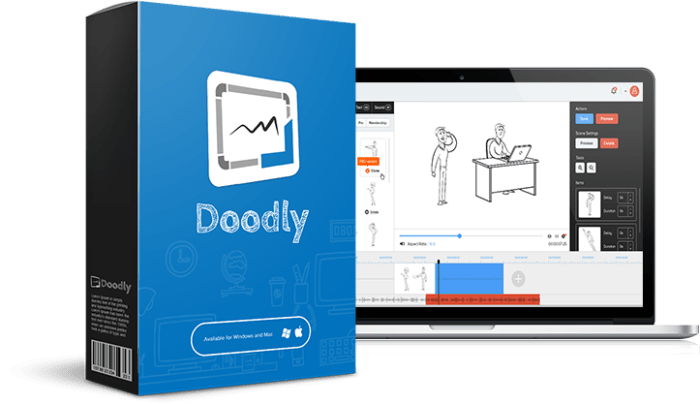 Doodly The Powerful Point and Click Doodle Video Creator Software By Jimmy Kim Review : Pro Doodle Video Software To Create Doodle Videos That Get Attention Realistic Drawing - Attention-Grabbing Doodly Drawings And Give You Done For You Background Scenes With Over 200+ Custom Characters and Poses