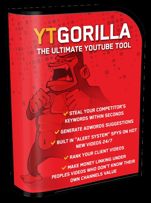 YT Gorilla Youtube Tool Video Marketing Software By Chris Fox Review - Best Ultimate Youtube Tool To Get 5.38 Million 100% FREE Organic Views On YouTube And 57,384 Leads on AutoPilot, 24/7 Automated Super Cheap Traffic Finder