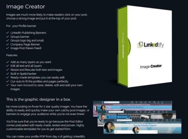 Linkedtify Personal App Software by Jonathan Oshevire