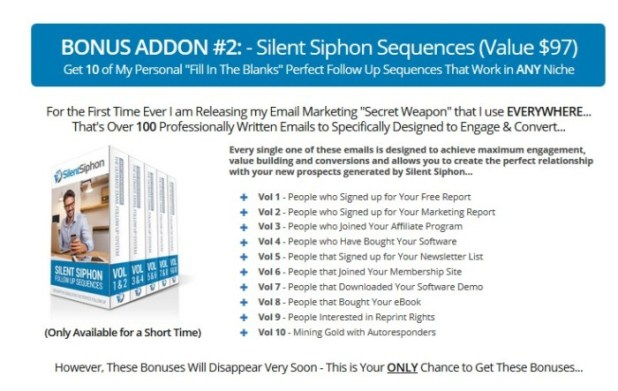 Silent Siphon PRO Lead Generation Software by Sean Donahoe