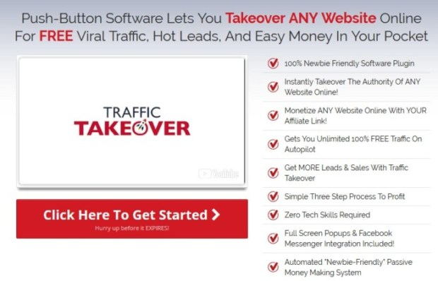 Traffic Takeover PRO Plugin Software OTO | JVZOO RESEARCH