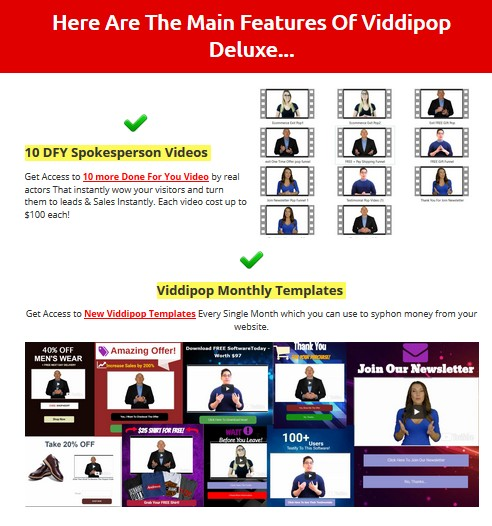 Viddipop Deluxe Commercial License Upgrade OTO by Seun Ogundele