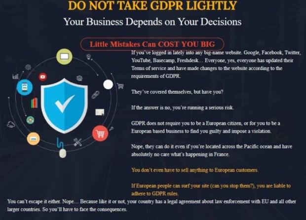 WP GDPR Fix GDPR Compliance Plugin Software by Cyril Gupta Teknikforce