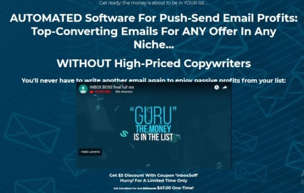 InboxBoss PRO Email Marketing Software | JVZOO RESEARCH