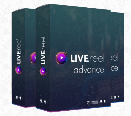 LIVEreel Advance Upgrade OTO Software by Abhi Dwivedi