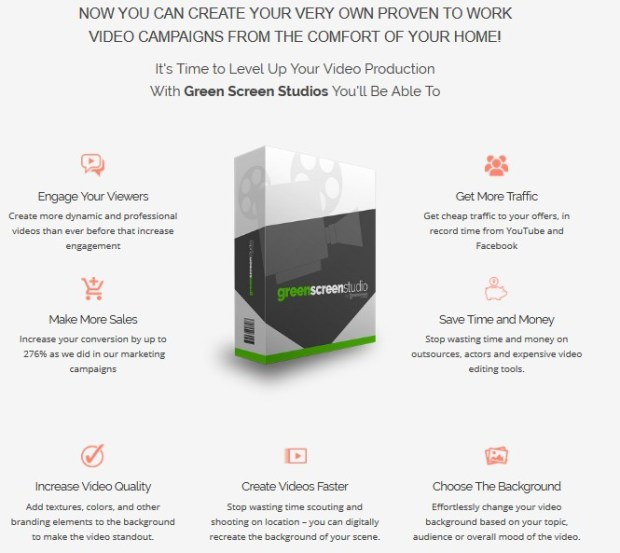 Green Screen Studios Software Pro OtoReview | JVZOO RESEARCH