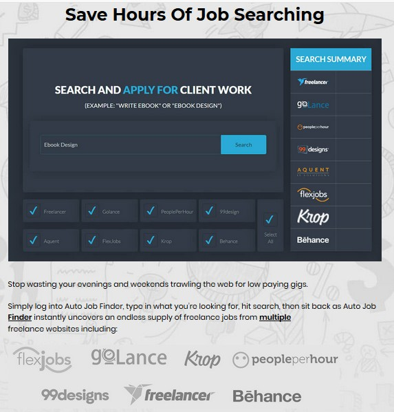 Sqribble Auto Job Finder Oto Review